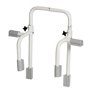 FabaCare Badewannengeländer Premium, Safety Griff, Einstiegs-Hilfe für Badewanne, rutschfester Gummimantel, Badewannengriff, Einstiegshile, Easy to Clean Versiegelung