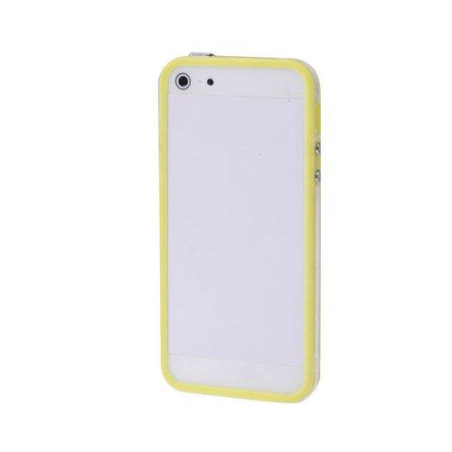 Apple iPhone 6 TPU Gel Case - Blau Apple iPhone 6 Tasche Flip Case Leder Cover Schutz Hülle Etui Schale - thinkmobile Gelb