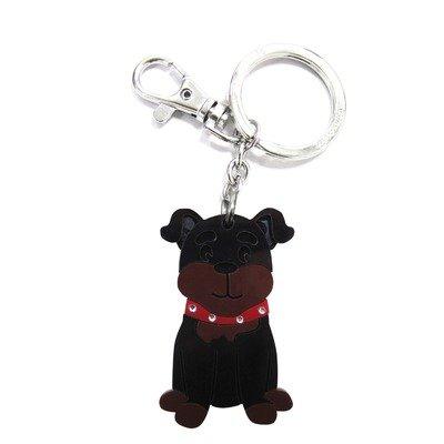 FouFou Dog Keychain Rottweiller