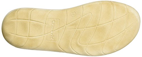 Tamaris 27210, Protezioni Toe Donna Bianco (White/sand 137)
