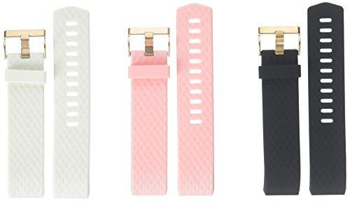 Wearlizer Kompatibel Fitbit Charge2 Armband, Silikon Ersatz Bands Kompatibel Fitbit Charge 2 Armband Special Edition Lavendel Rose Gold