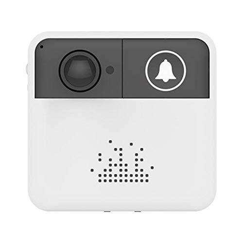 Eillybird Funkklingel Funk Klingel Haustür Wireless HD WiFi Intelligente Türklingel Mit Live-View Und Zwei-Wege-Audio-und SD-Karte Lokale Aufnahme Mobile Fernbedienung Ohne Batterie Und Speicherkarte -