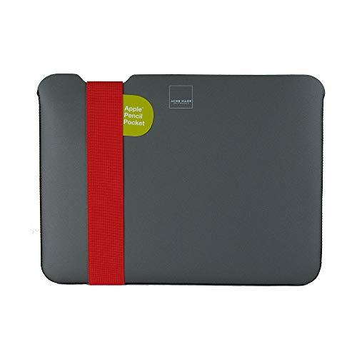 Acme Made Skinny Sleeve S, Ultra-dünne Tablet- und Notebookhülle, 11-13 Zoll, Neopren, grau/orange - Neopren-sleeve
