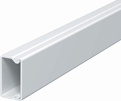 10m Kabelkanal selbstklebend 30x15mm Kunststoffkanal Verdrahtungskanal Leitungskanal reinwei/ß selbstklebend mit Deckel PVC Kanal 2,15/€//m