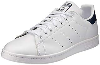adidas Originals, Stan Smith, Sneakers, Unisex - Adulto, Bianco (Core White/Dark Blue), 42 2/3 EU (B00MHPC7DY) | Amazon price tracker / tracking, Amazon price history charts, Amazon price watches, Amazon price drop alerts