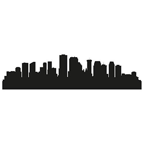 Wandtattoo Skyline New Orleans - Größe: M - 100cm x 25cm - 23 mögliche Farben (New Skyline Orleans Von)