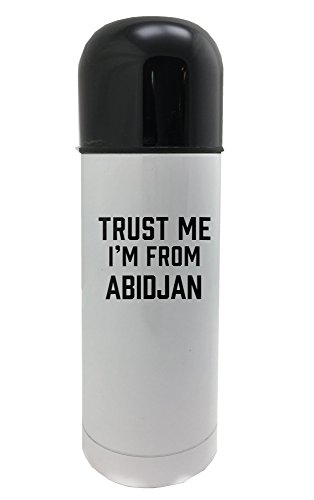 Trust me I am from Abidjan 350ml white thermos