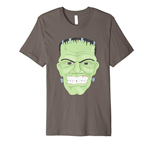 Frankenstein Happy Halloween Monster Kopf T-Shirt