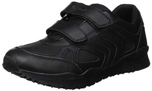 Geox J Pavel F, Zapatillas Niños, Negro Black C9999