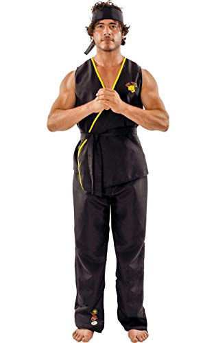 ORION COSTUMES Adult Viper Kai Karate Fancy Dress Costume