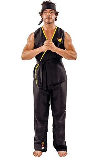 ORION COSTUMES Adult Viper Kai Karate Fancy Dress Costume (Karate Kid Kostüm)