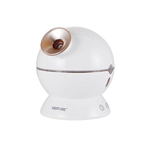 KINGDOM CARES 3 in 1 Gesichtsdampfer Hot & Cool Mist Feuchtigkeitsspendende Gesicht Steamer Sprayer Home Spa Reinigung Golden KC13313