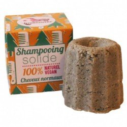 LAMAZUNA Shampooing solide Cheveux normaux - 55g