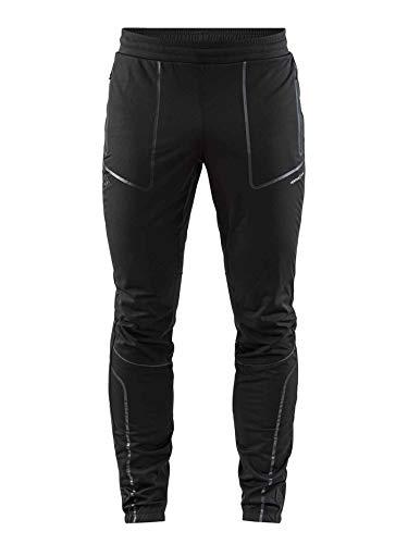 CRAFT Sharp–Pantalón de esquí de Fondo para Hombre, Hombre, Color Negro, tamaño FR: S (Talla Fabricante: B: S)