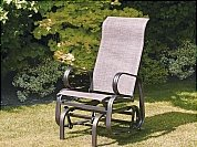 Boston Bronze Single Seat Chair Glider by Suntime