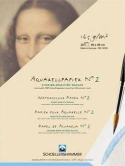 Schoellershammer Aquarellblock 24 x 32 cm DaCapo N°2