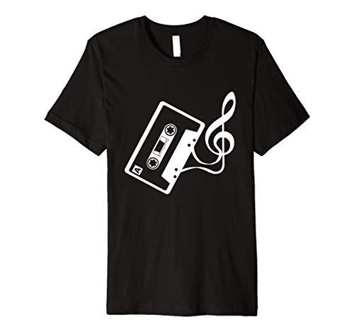 Musik Kassette mit Notenschlüssel für Sänger & Liedermacher