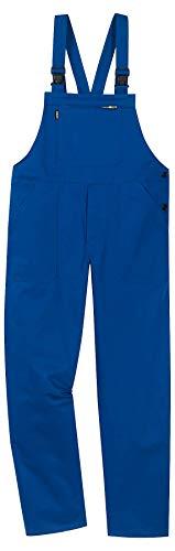 Uvex Eco 126 Herren-Arbeitshose - Blaue Männer-Latzhose 54