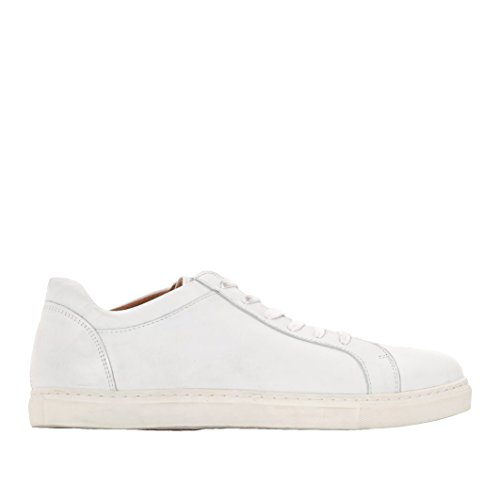 SELECTED - - Uomo - Sneakers en Cuir Blanches Semelle Beige Duran pour homme -