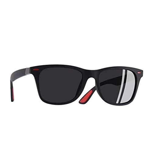 LCLrute Sonnenbrillen,Art und Weise polarisierte Sonnenbrille im Freien Reitglas-Sport-Sonnenbrille Erwachsene Verspiegelt UV-Schutz