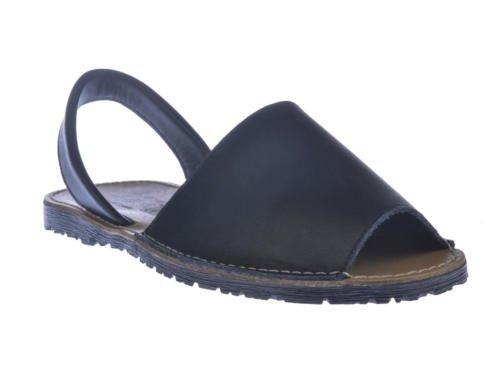 Sandalias Menorquinas Unisex Todo Piel mod.201. Calzado Made in Spain, Garantia de...
