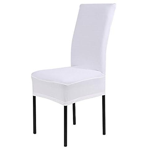 Housse de chaise stretch Housse Protection fourni avec élastique pour