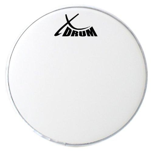 """XDrum 10"""" Coated Drumfell (10"""" weiß, aufgerauhte Mylar-Schicht, offener, warmer Klang mit dezentem Attack und langem Sustain)"""