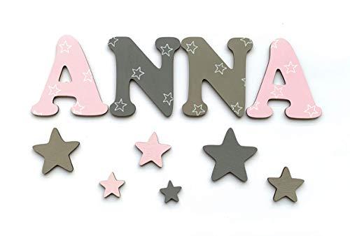 Buchstaben Klebepunkte Und Geschenkverpackung Mädchen 3er