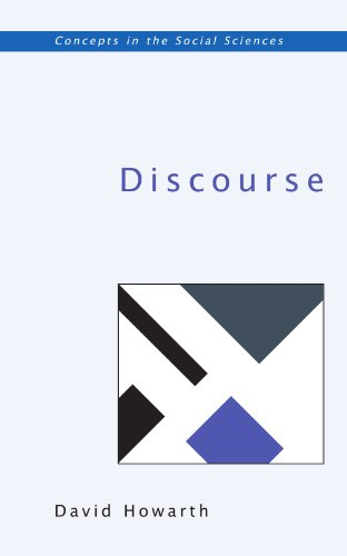 DISCOURSE (Concepts in the Social Sciences)