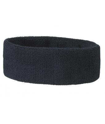 MB Stirnband, Frottee, 15 Farben Blau navy One Size up to 60cm (Navy Blau Damen Rugby)