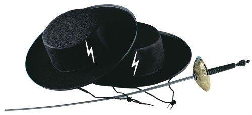 Banditenjäger Hut Gangster schwarz (Tänzer Spanischer Kostüme Kinder)