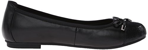 Vionic Womens 359 Minna Leather Shoes Black