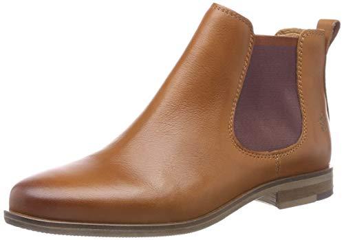 Apple of Eden Damen Manon Chelsea Boots, Braun (Cognac 10), 37 EU