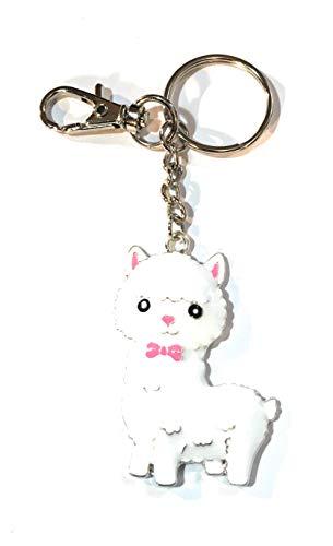 Fizzy Knopf Geschenke Emaille Baby-Alpaka-Lama cria Taschencharme-Schlüsselanhänger Schlüsselanhänger -