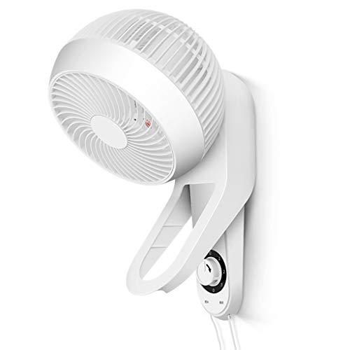 ZAQI Ventilador Pared Ventilador de Pared pequeño 360 ° Oscilante, silencioso, Mini...