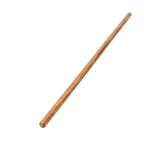 Sport-Tec Turnstab aus Holz, Gymnastik Stab, Trainingsstab, Ø 2,4cm, natur, lackiert