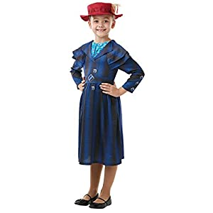 Rubie's 640649M Official Disney Mary Poppins Returns Movie Costume Book Week Character, Girls', Medium (Age 5-6 Years)