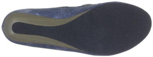 Queen 2402710, Escarpins femme Bleu (Denim 10)