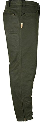 Lederprofi - Pantalon - Slim - Homme vert vert W50 Marron