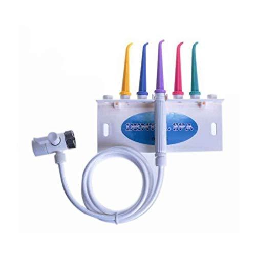 Idropulsore Famiglia Dimensione Dental Spa Getto d\' Acqua Bocca Doccia Filo interdentale di a con 5 PC di spruzzo ugello