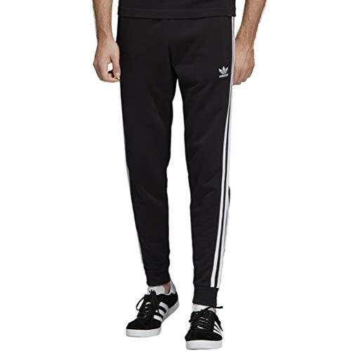 adidas Herren 3-Stripes Pant Sport Trousers, Black, M Originals 3 Stripes Trefoil