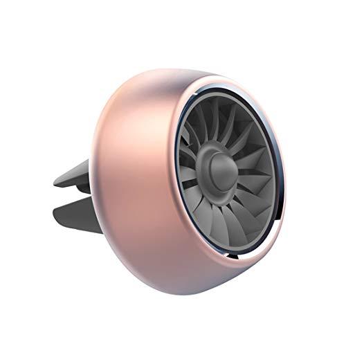 LVLONG Air Force 2 Motor, Auto Luft Duft - Auto Parfüm Ornamente - Innenraum Klimaanlage - Flugzeug-Lüfter - erfrischenden Geruch, geeignet für eine Vielzahl von Fahrzeugen 4cm Drehemitter -