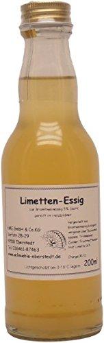 Historische Ölmühle Eberstedt - Eberstedter Limetten-Essig - 200 ml