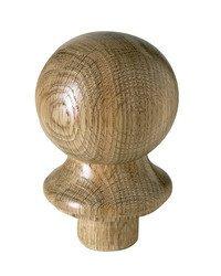 Eiche Ball für Treppengeländer (Eiche-ball)