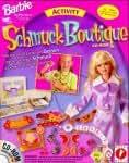 Barbie Schmuck Boutique, 1 CD-ROM Alles was Du brauchst, um Deinen eigenen richtigen Schmuck zu entwerfen und herzustellen. Für Windows 95. Enth.: 4 Bogen Print 'n' Shrink Material, 2 Bogen Avery Perlenaufkleber, 24 Ringe, 32 Plastikperl