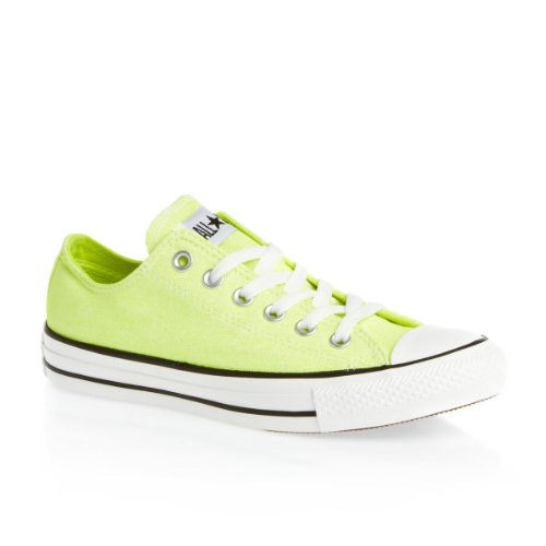 Converse Chuck Taylor All Star Wash Neon Ox, Baskets mode femme Jaune