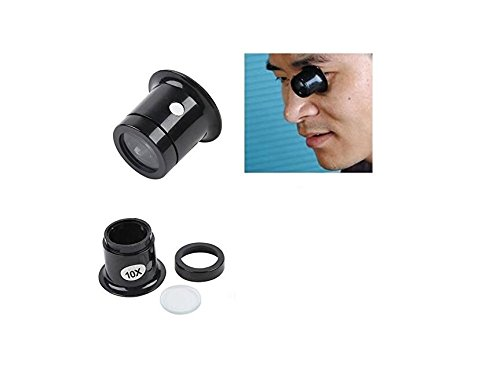 BAOLIJIN Schmuck Uhr Lupe Lupe Eye Len Okular Repair Kit - Lupen Auge Ein