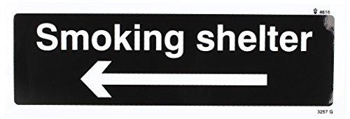 caledonia-schilder-23257lecksucher-set-g-smoking-shelter-pfeil-links-wei-schwarz-zeichen-selbstklebe