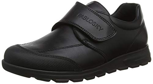 Pablosky 334510, Mocasines Unisex niño, Negro Negro Negro, 33 EU