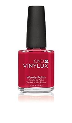 CND Vinylux Rouge Red